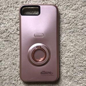 Allurecasemate selfie lighting iPhone7/8 plus case